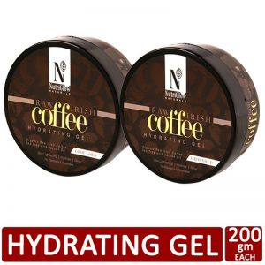 NutriGlow Natural's Set of 2 Raw Irish Coffee Hydrating Gel_200 gm each